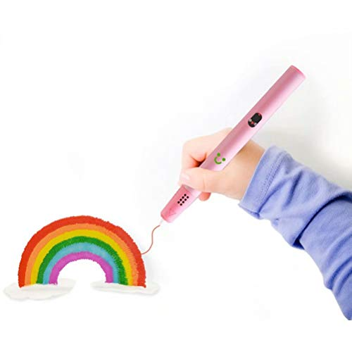Pluma de Impresión 3D, Pluma 3D con Pantalla LCD, Un Regalo Especial de Cumpleaños y Navidad Para Niños y Adultos