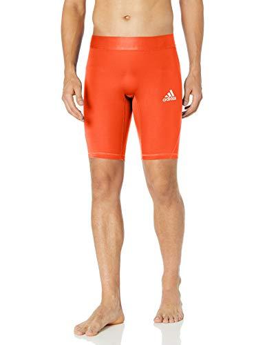 adidas Herren Training Alphaskin Sport Short Tight Eng, Collegiate Orange, XXX-Large-Long