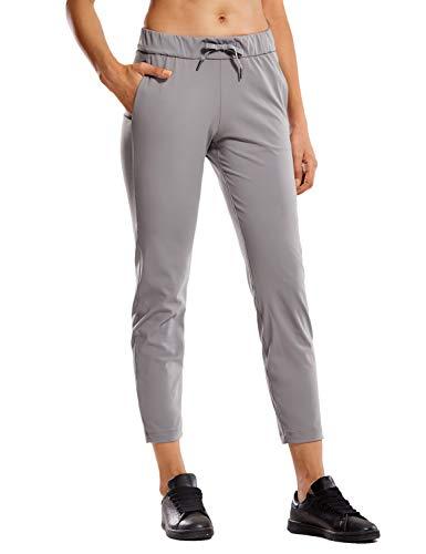 CRZ YOGA - Pantalones Deportivos Casuales con Bolsillo para Mujer -71cm