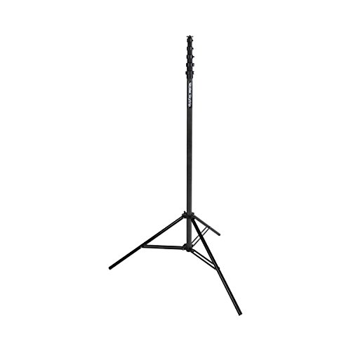 Rollei Skytrip - Carbon Stativ mehrfach ausziehbar bis auf 765 cm, perfekt für Actioncams und 360° Kameras - Schwarz