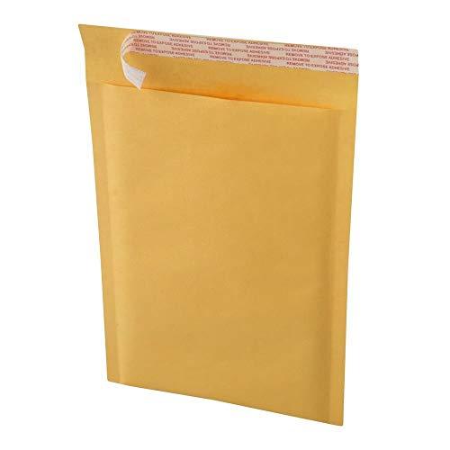 Kraft Bubble Padded Envelopes Mailers KF#00, Kraft Bubble Mailers 5x10' - #00 Self-Sealing Padded Envelopes Bags (500)