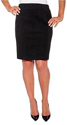 Mario Serrani Ladies' Bodymagic Knit Skirt (Black)