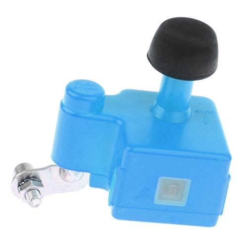 NON Cargador Dual del Interfaz USB del Dínamo del Generador de La Bicicleta para El Teléfono Inteligente, Banco del Poder - Azul
