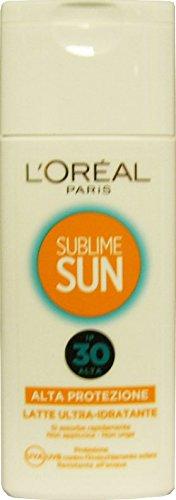 Sublime Sun Lait Protecteur ultra-idratante Blanc FP30 200 ml