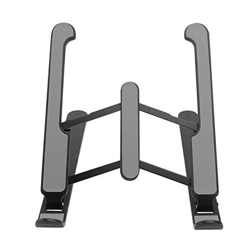 OSALADI Portable Laptop Stand Adjustable Aluminum Laptop Riser Computer Stand Ergonomic Foldable Portable Desktop Laptop Holder