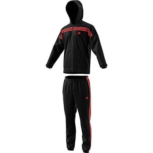 adidas Herren MTS Urban Sportoutfit, Negro/Apsord, XL