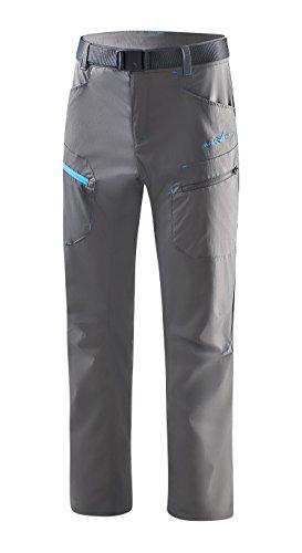Black Crevice Pantalon de Trekking pour Homme, Anthracite, L