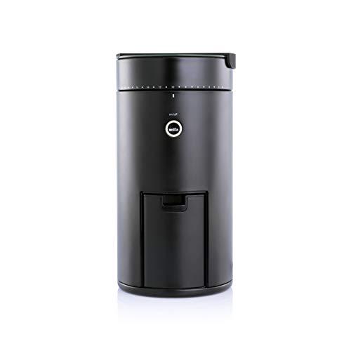 Wilfa SVART UNIFORM Kaffeemühle - mit 41 Mahlgradstufen, digitale Verbindung dank App, mit Autostopp-Funktion, schwarz