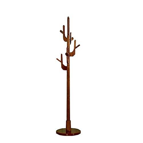 47-B Perchero de pared con forma de árbol europeo, para dormitorio, árbol pequeño, madera maciza, árbol propicio, árbol de la fortuna y ramas (color: B)