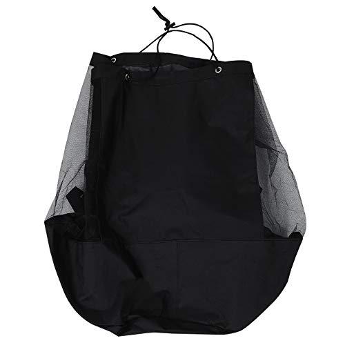 BESPORTBLE Mesh Ausrüstung Tasche Sport Kordelzug Sack Polyester Aufbewahrungsrucksack für Bälle Strandwäsche