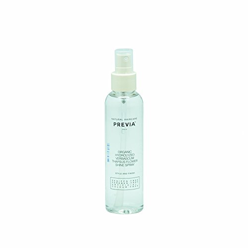 Previa Finish Organic Hydrolized Verbascum Thapsus Flower Shine spray 150ml