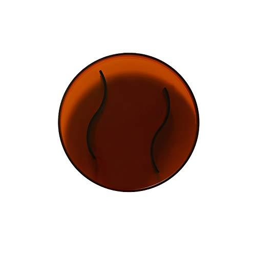 OMYLFQ Bandeja Placa Bandeja de té Bandeja Redonda de acrílico habitación Elegante clásica de Vida de los hogares Taza de Agua de la Taza de té Bandeja Decorativa Creativa Serving Tray