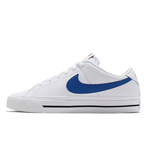 Nike CU4150 101 Corte Legacy Bianco/Game Royal da uomo, bianco (Bianco/Game Royal), 46 EU