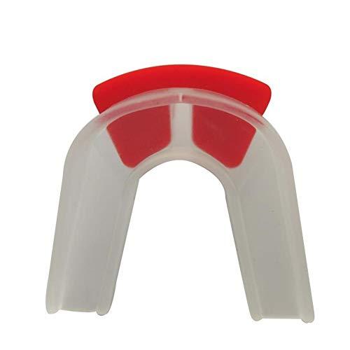 ERSD Kaugummi-Schild-Custom geformtes Gel Mundstück for Rugby-Schutz (Farbe : A1, Size : Adult)
