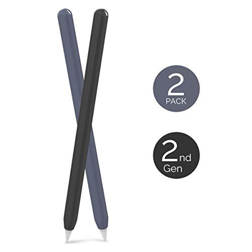 AHASTYLE Apple Pencil Hülle Silikon Apple Pencil Hülle Ultra Dünn Apple Pencil Abdeckung Kompatibel mit Apple Pencil 2. Generation, iPad Pro 11