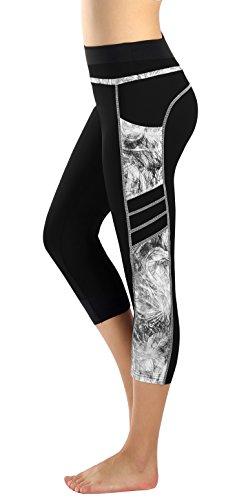 Munvot Mujer Leggins y Mallas de Cintura Alta para Yoga,Pilates,Fitness y Running M
