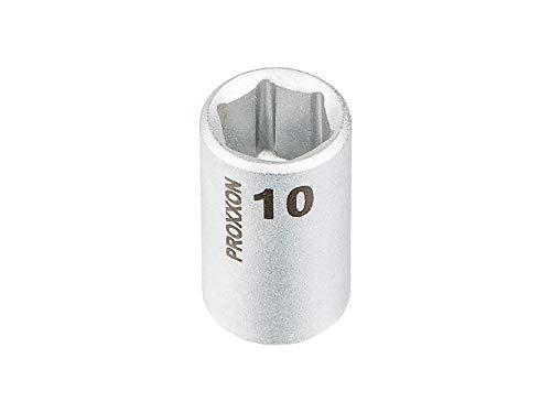 PROXXON 23722 Steckschlüsseleinsatz / Nuss 10mm Antrieb 6,3mm (1/4