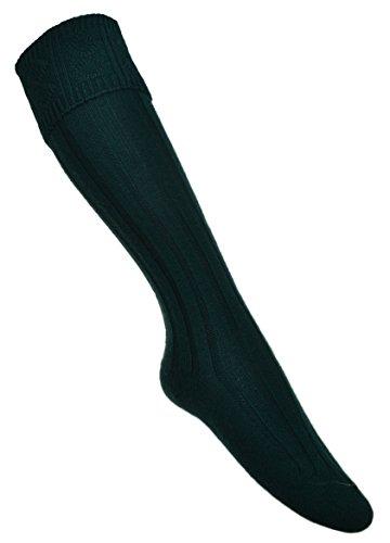 Flaschengrüne KILT Socke- Vielzahl an Größen erhältlich