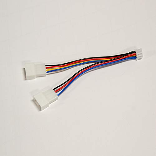 Mini 4-Pin to 2 x 4-Pin PWM Fan Adapter (CAB004)