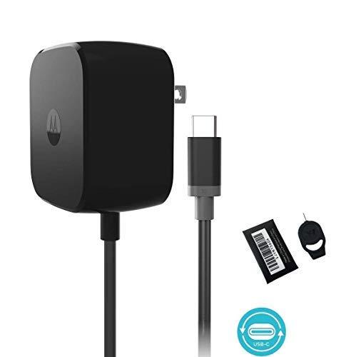Motorola TurboPower Schnellladegerät für Moto Z, Droid, Maxx, X4, X2, S9, Note8, S8, Google Pixel, 2