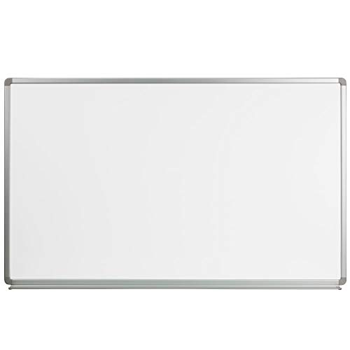 Flash Furniture 5' W x 3' H Magnetic Marker Board