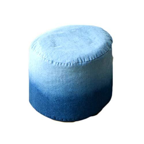 LDIW Premium Riesen-Sitzsack-Hülle, Farbverlauf Einfaches Design Sitzsack Außenbezug Wechselbezug für birnenförmigen Sitzsack, ohne Füllung,Pedal Cover