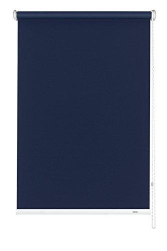 pequeño y compacto Gardinia 6241102180 – Estores enrollables opacos (cadena lateral, 102 x 180 cm), azul oscuro