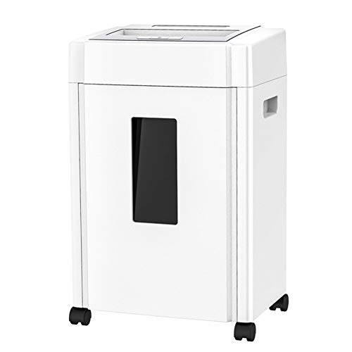 Great Price! DDSS Shredder Paper Card disc Shredder, Multi-Function, Smart Sensor /-/ (Color : White...