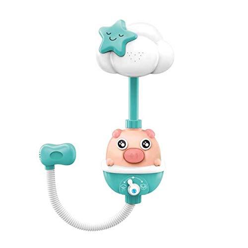 PQZATX Baby Bad Spielzeug Blume Dusch Kopf Bade Wanne Bade Wasser Spiel Bew?Sserungs Sprayer für Kinder Kleinkinder GrüN