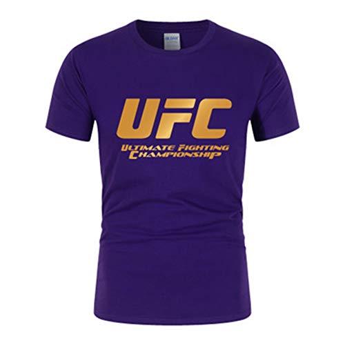 Camisetas Camiseta para Hombres, Aptitud de Boxeo Pantalones Cortos Deportivos Impresos, Suaves y cómodos (Size : Small)