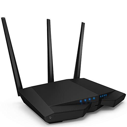 WQYRLJ Draadloze Wifi Router, Ac1900mbps WIFI Repeater Dual Band 2.4Ghz/5Ghz met USB3.0 802.11Ac Afstandsbediening APP Eenvoudige installatie