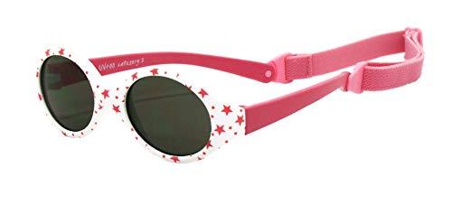 Kiddus Gafas de sol POLARIZADAS bebe para niños y niñas a partir de 6 meses. SUPER FLEXIBLES. Protección solar UV400. Seguras, confortables, muy resistentes. Baby Comfort