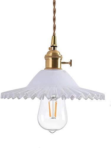 CAIMEI Araña Lámpara Colgante Industrial Vintage con Pantalla de Vidrio Gris Retro E27 Lámpara de Techo de Alambre Flexible Tejido Acabado en Latón Iluminación Colgante Moderna Minimalista Transparen