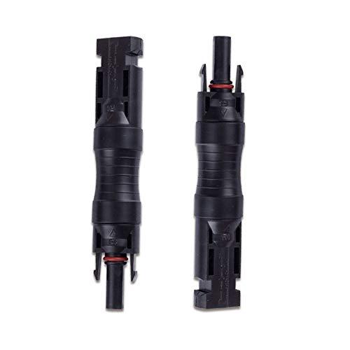 Angoter 1PCs MC4-Sicherung Stecker IP67 wasserdicht mit Nicht für Sicherungen geeignet 15A Dioden-Stecker auf Buchse Verwenden PV Solarzellenpaneels