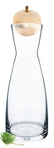 Gesundheitskissen.at ZirbenApfel inkl. Zirben-Wasserkaraffe Ypsilon (1 Liter)