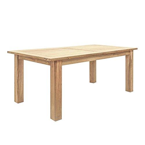OUTLIV. Oxford Ausziehbarer Gartentisch 200/260x100 cm mit Gestell und Tischplatte aus recyceltem Teakholz - Jeder Tisch ist einzigartig…