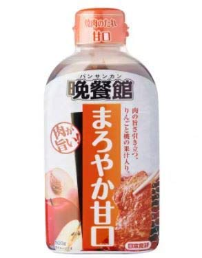 Nihon Shoken Yakiniku AMA BBQ Sauce Milde japanische Sauce 500 g – Eine leckere süße Yakiniku Sauce aus Sojasauce und süßen Fruchtsäften, Sesamöl und Gewürzen