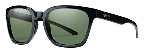 SMITH Founder-Gafas de Sol para Hombre, Color Negro/Chroma Pop Grey Green Polar