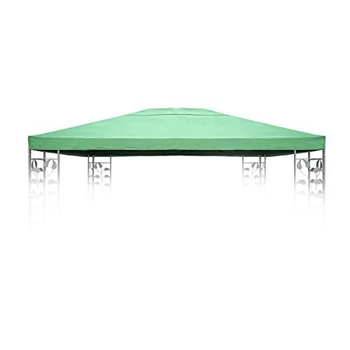 Angel Living Cubierta superior de repuesto para techo de jardín de 3 x 4 m, 1 nivel, color verde
