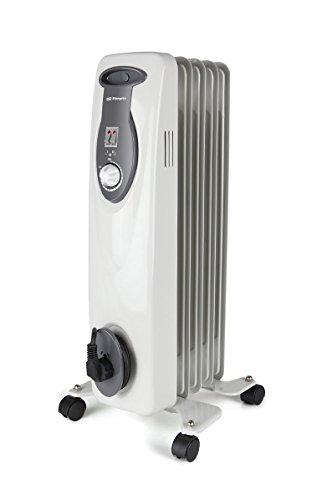 Orbegozo Ra 1000 E 1000 W radiator olie- en bouwmodule 5-elementen, wit
