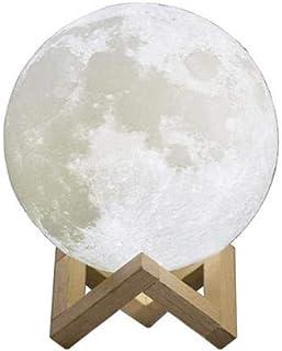 Moon Lamp 3D Print Moon Light, Lighting,Rechargeable Home Decorative Night Light 13cm