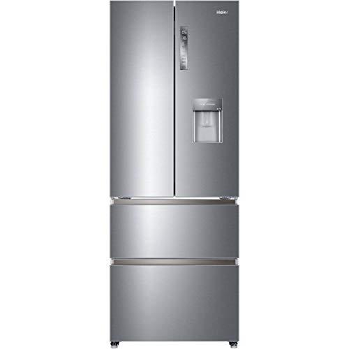 Réfrigérateur américain Haier HB16WMAA - Réfrigérateur 4 portes - 422 litres - Réfrigerateur/congel : No Frost / No Frost - Dégivrage automatique - Gris...