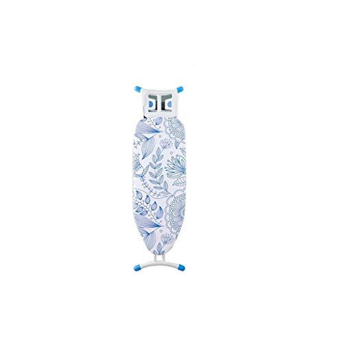 Housse 111,5 * 26 * 82cm Planche à repasser, Conseil Téméraire Steel Pipe de repassage robe de mariage en studio Table à repasser, avec le repos de fer à vapeur, Motif bleu centrale vapeur