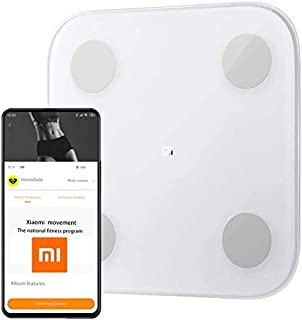 Original Xiaomi Mi Smart Bluetooth Body Fat Scale 2 with Upgraded App, High Precision Bathroom Scales Digital Weight and B...