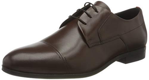 HUGO Herren Boheme_Derb_ltstct1 Derbies, Braun (Medium Brown210), 40.5 EU