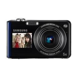 Samsung PL PL150 Kompaktkamera 12,4 MP 1/2.33 Zoll CCD 4000 x 3000 Pixel Violett - Digitalkameras (12,4 MP, 4000 x 3000 Pixel, CCD, 5X, HD, Violett)