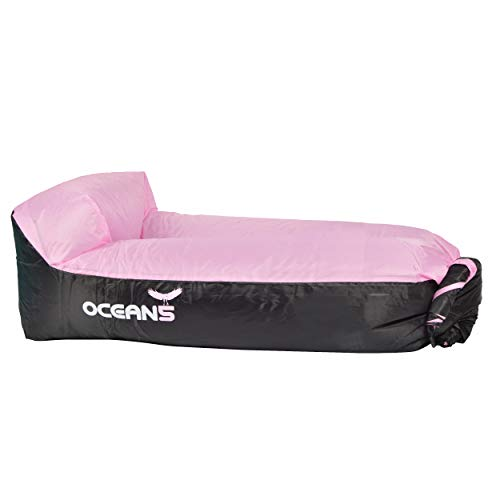 Ocean 5 Air Lounger, aufblasbares wasserdichtes Luftsofa, Loungebag mit integriertem Kissen inkl. Tragebeutel, Sitzsack als Outdoor-Sofa im Park, Camping, Festival