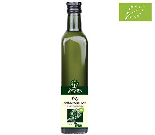 ÖLMÜHLE SAUERLAND -Sonnenblumenöl Bio kaltgepresst nativ (500 ml)