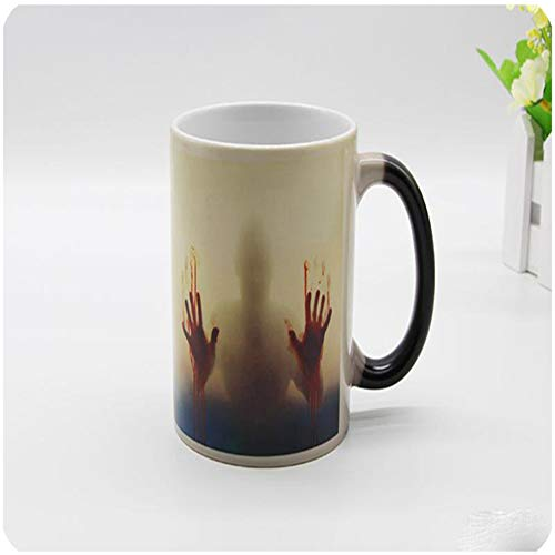 Walking Dead Mug, Van Kleur Veranderende Keramische Waterbeker, Je Kunt Deze Gebruiken Om Water, Thee, Koffie Te Drinken, Het Beste Cadeau Voor Familie En Vrienden