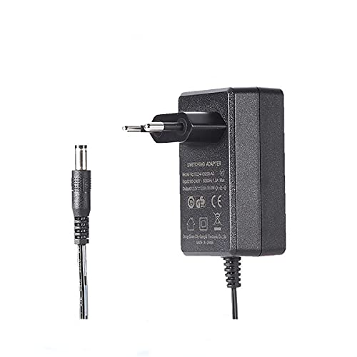 SOOLIU Cable AC/DC Adapter Charger Power for JVC Everio Camcorder GZ-HM65BU GZ-HM65BUS GZ PSU
